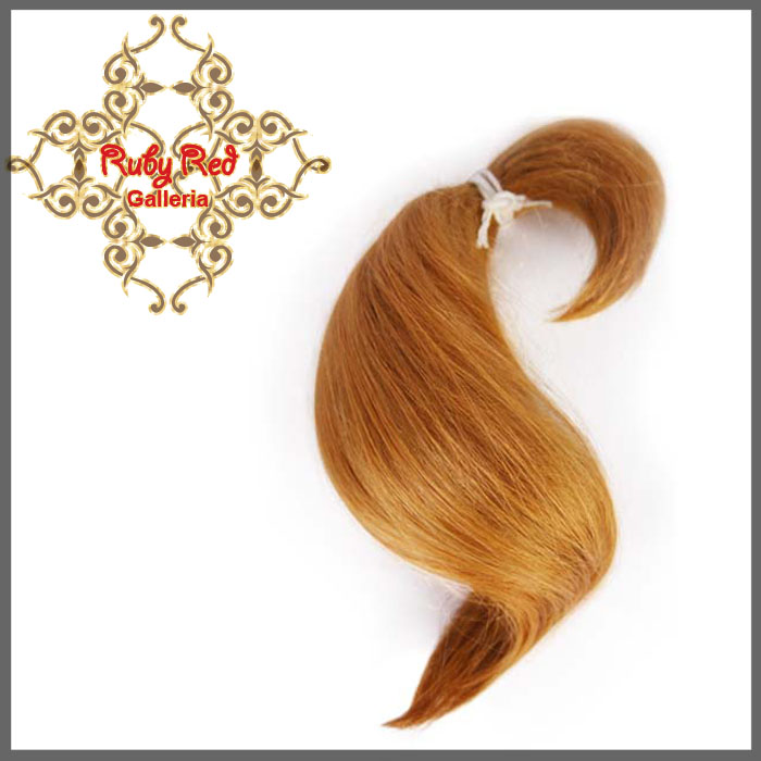 BD0005MH3 Auburn Curve ReBorn Toddler Hair 0.25 oz