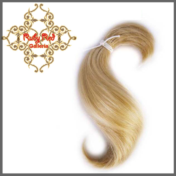 BD0005MH6 Blonde Curve ReBorn Toddler Hair 0.25 oz