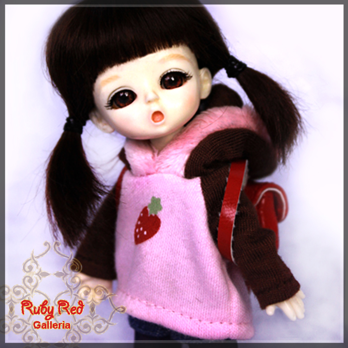 CC0001A My School Day (with wig) - Cloth Set