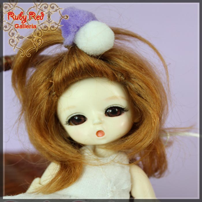 CD0002A Strawberry Blonde Mohair Wig