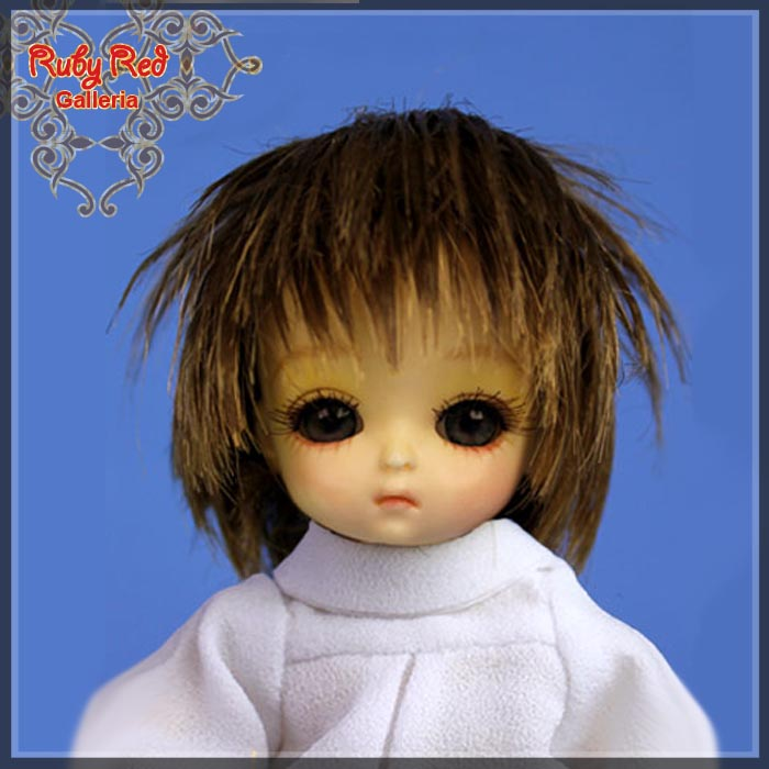 CD0011A Ash Blonde Doll Wig