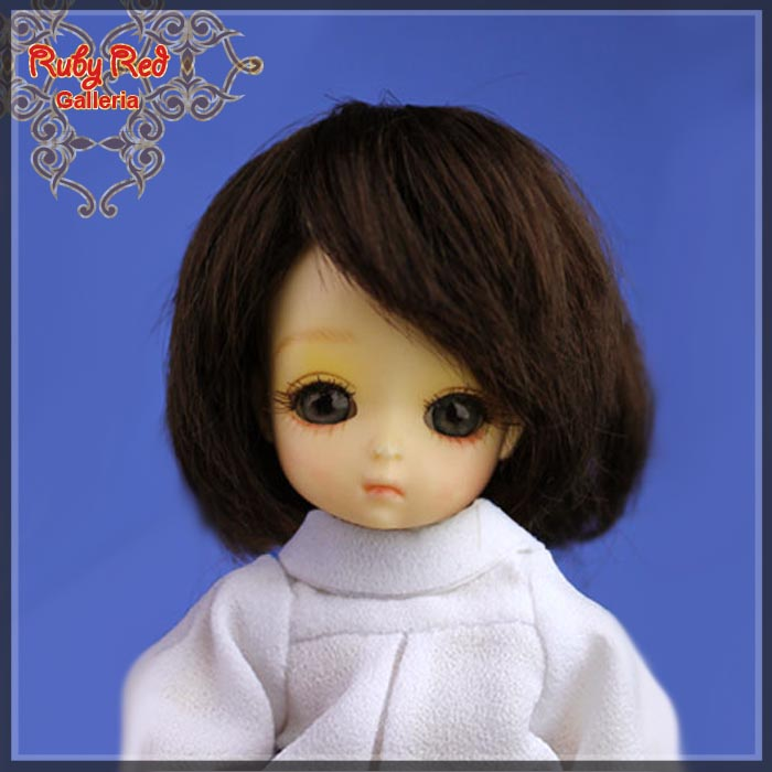 CD0013A Dark Brown Mohair Wig