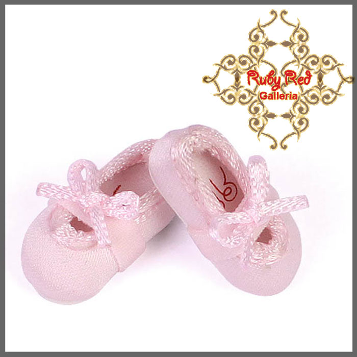 CH0006A Pink Satin Shoes