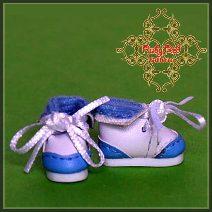 CH0009A Blue Baby Shoes