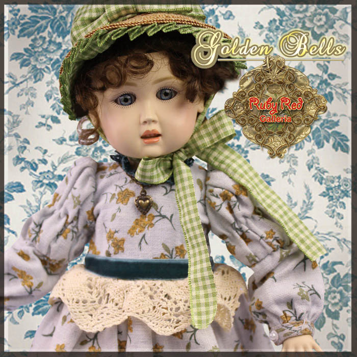 EC0035A Golden Bells (with wig) - Bleuette Cloth Set