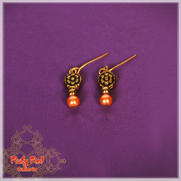 EE0012A Antique Style Earrings - for Bleuette