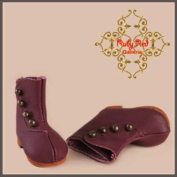 EH0010A Burgandy Leather Shoes