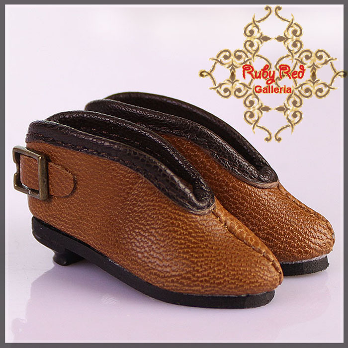 EH0031A Brown Leather Ankle