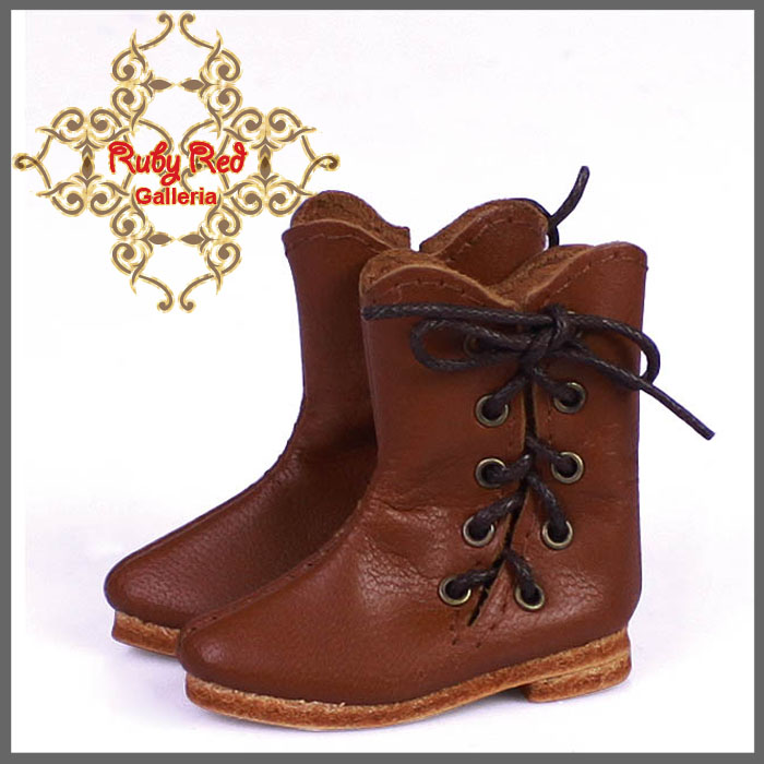 EH0034C Brown Leather Boots