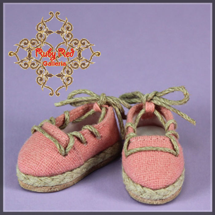 EH0040A Pink Canvas Shoes