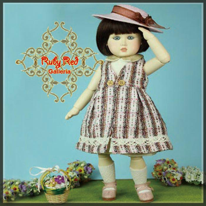 EP0002A Bleuette, My Little Gardener (Bleuette Pattern Package)