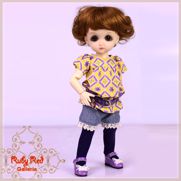 GA0005A StrawBerina, Mix n' Match, Sweet Purple