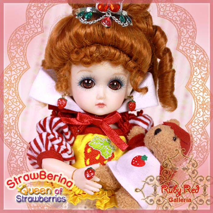 GA0011A StrawBerina, Queen of Strawberries