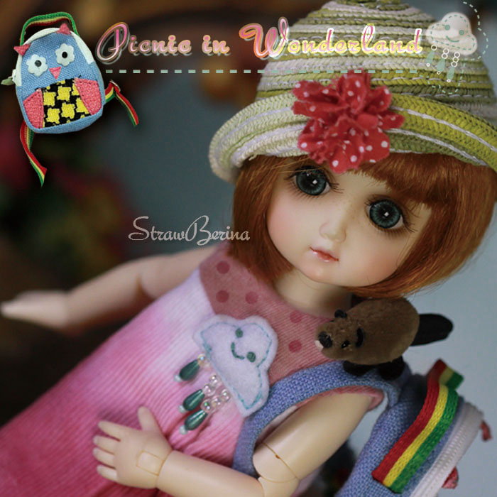 GA0020A StrawBerina, Picnic in Wonderland