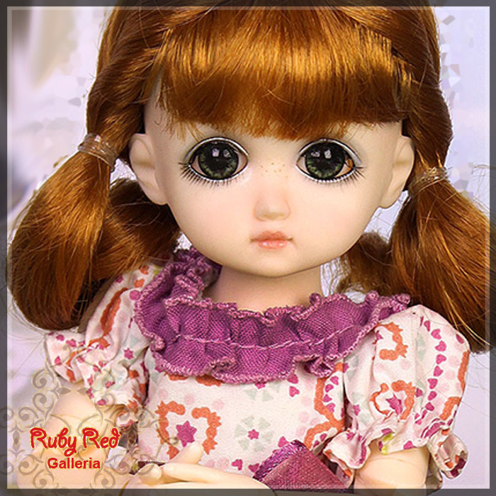GC0001A Royal Purple (with wig) - Cloth Set