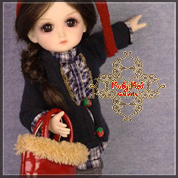GC0007A Deep Blue (with wig) - Cloth Set