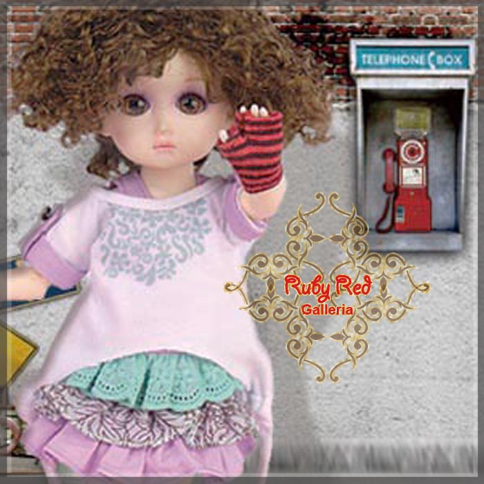 GC0017A Freestyle Dancing (with wig) - Cloth set