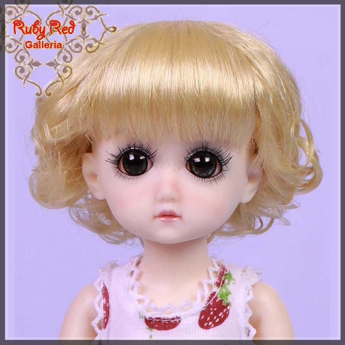 GD0003B Blonde Doll Wig