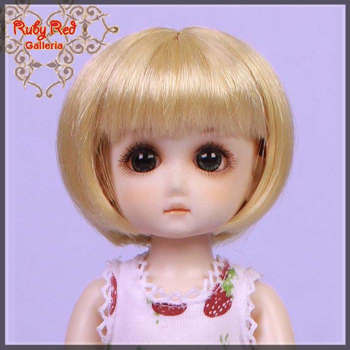 GD0004A Blonde Doll Wig