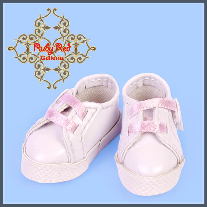 GH0004A White & Pink Sport Shoes