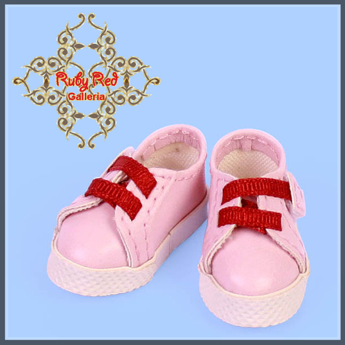 GH0004B Pink & Red Sport Shoes