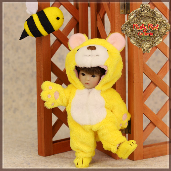 HC0046A Yu Ping Animal Costume – Yellow Bear