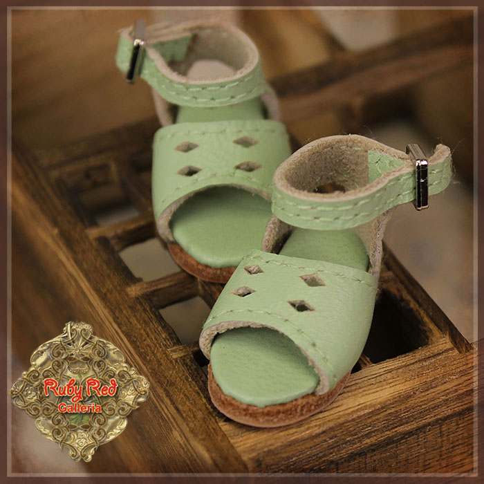 HH0032A Real Leather Sandals