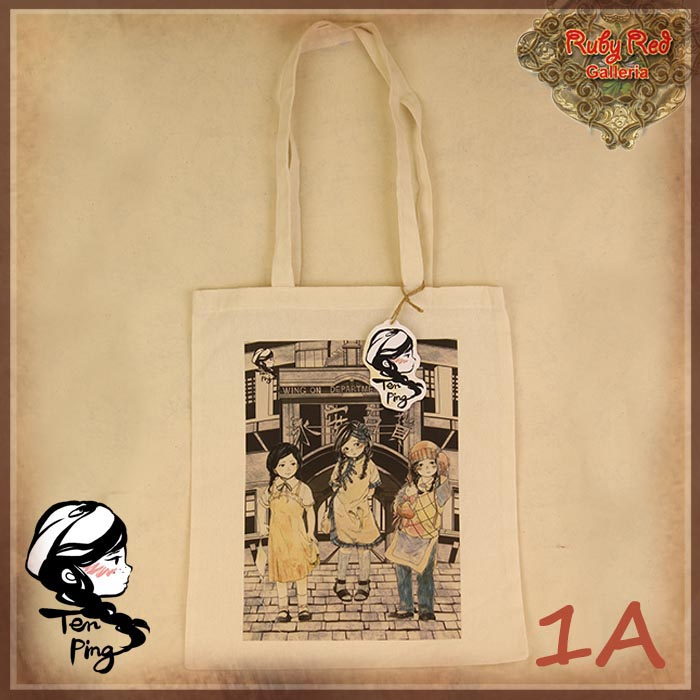 HZ0001A Ten Ping Cotton Shopping Bag