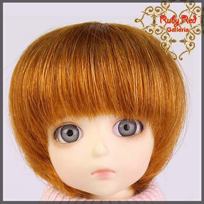 ID0012GH Carrot Red Doll Wig