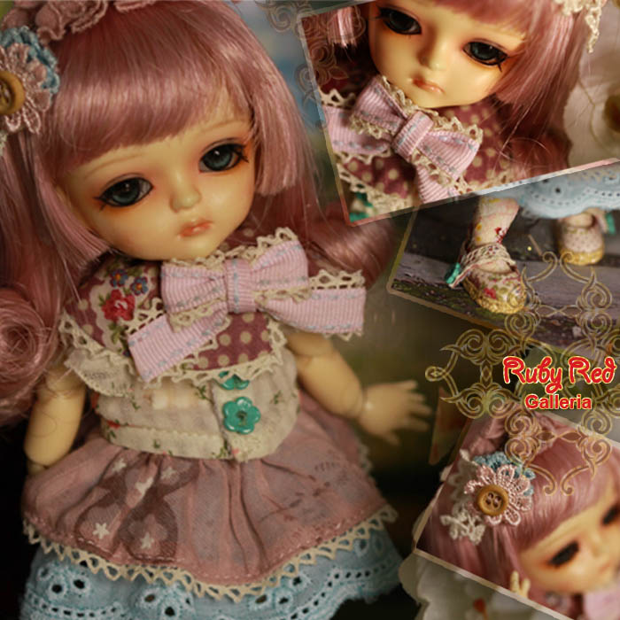 LA0034B Miss Floral (no wig) - Cloth set