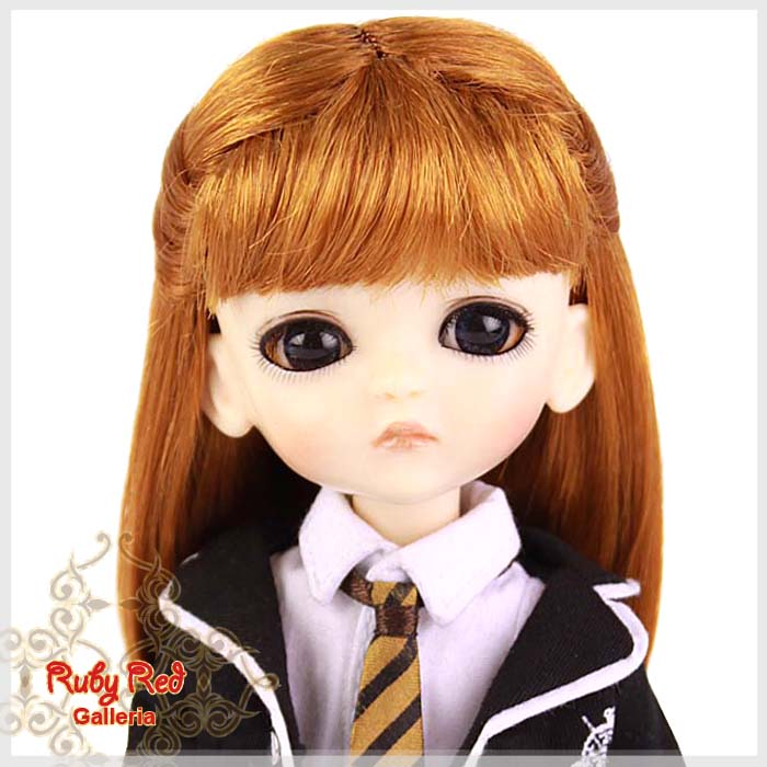 LD0002M Carrot Red Princess Wig