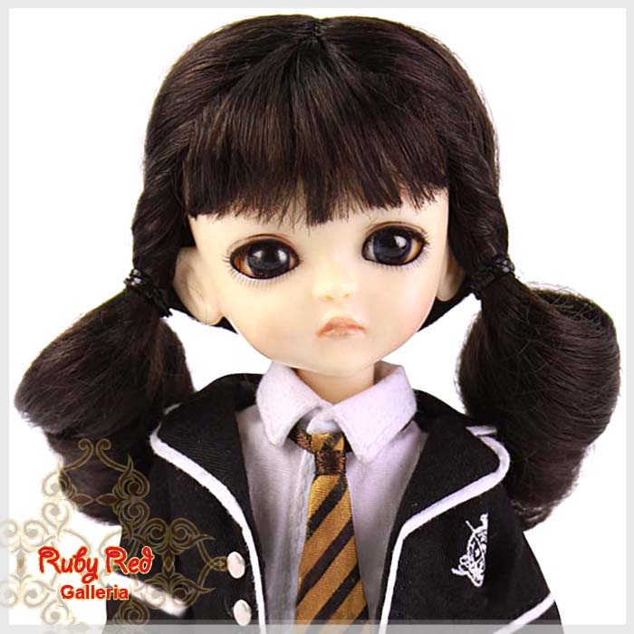LD0005I Dark Brown Pony Wig