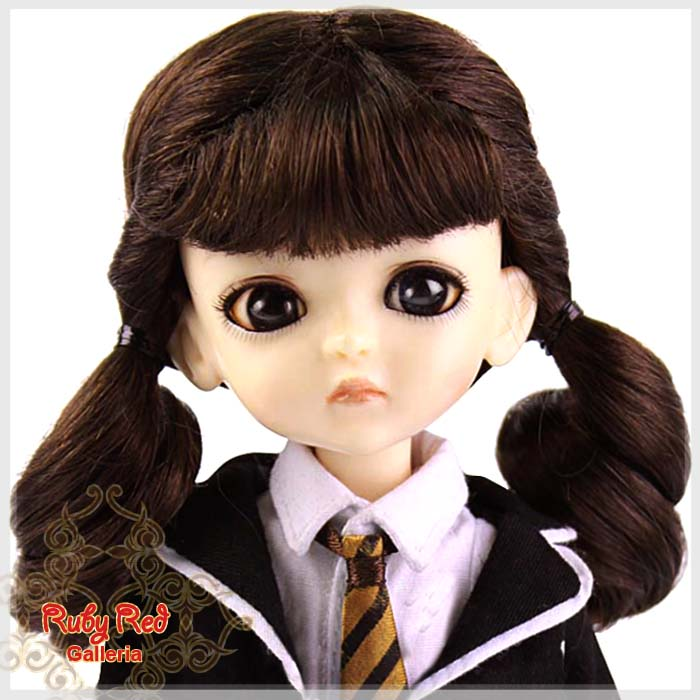 LD0005L Medium Brown Pony Wig
