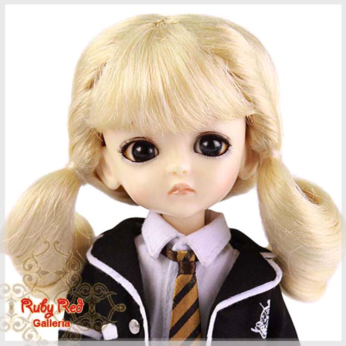 LD0005N Pale Blonde Pony Wig