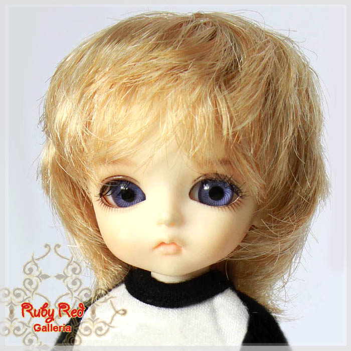 LD0009Y Short Wavy Blonde Wigs