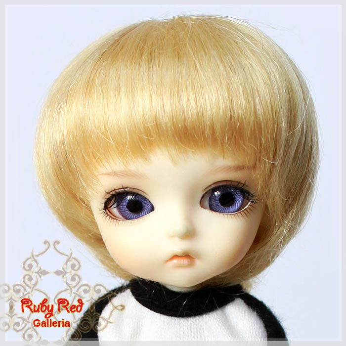 LD0010EH Short Straight Blonde Mohair