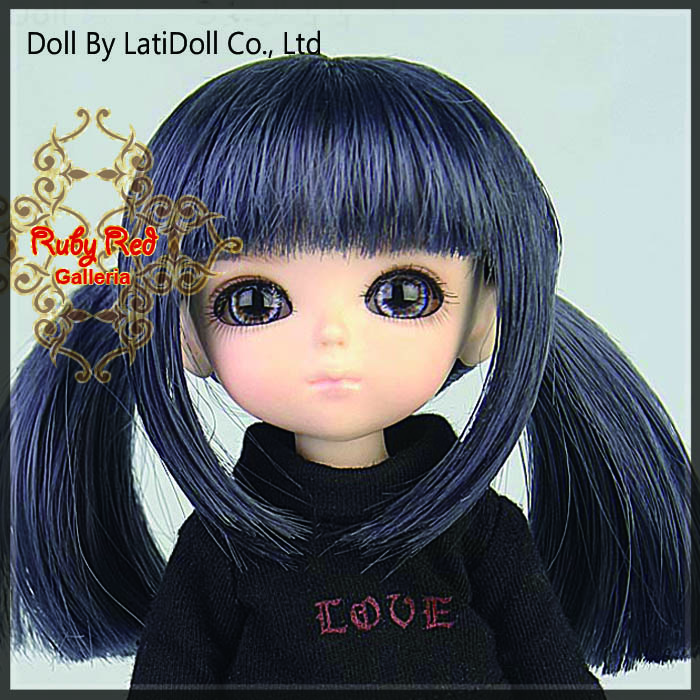 LD0015KB Grey Doll Wig