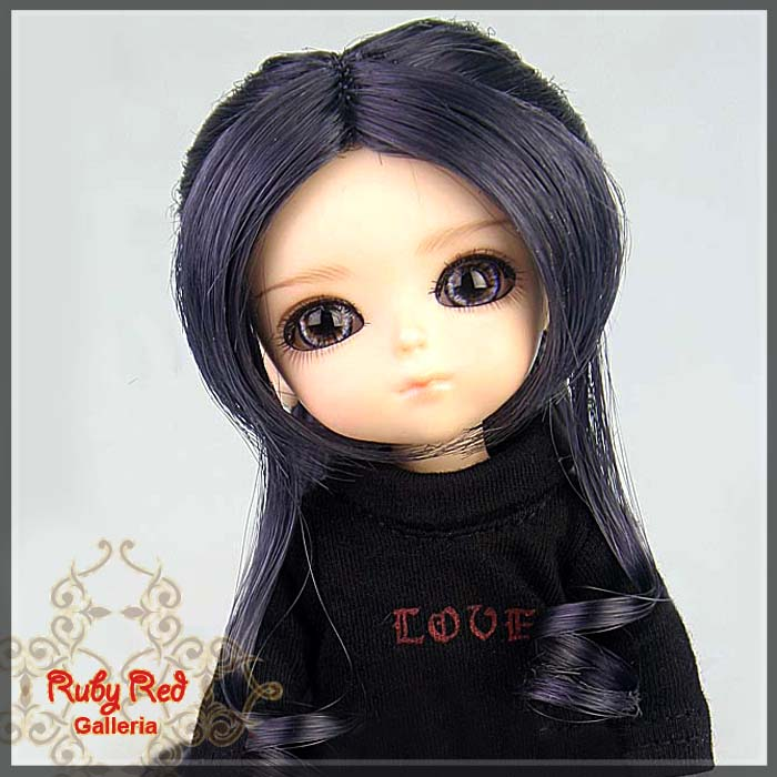 LD0017KB Grey Doll Wig
