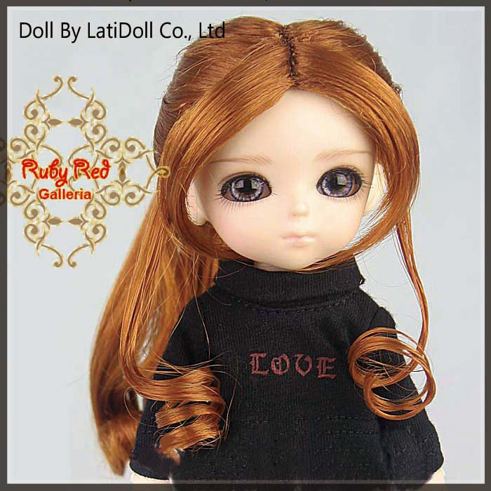 LD0017M Carrot Red Doll Wig