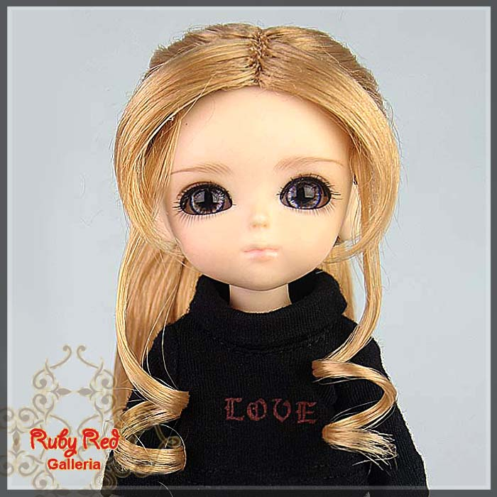 LD0017SC Strawberry Blonde Doll Wig