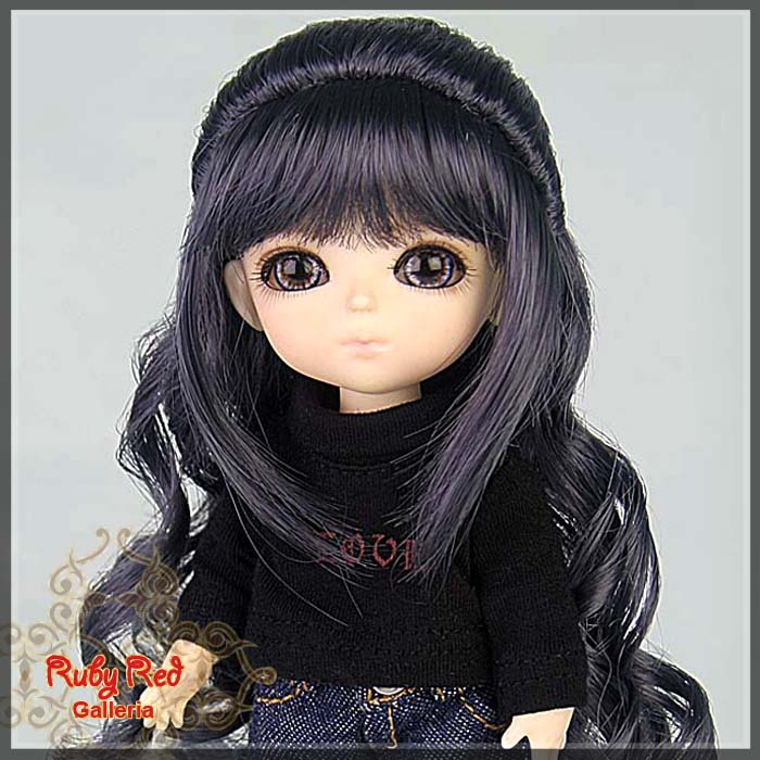 LD0018KB Grey Doll Wig