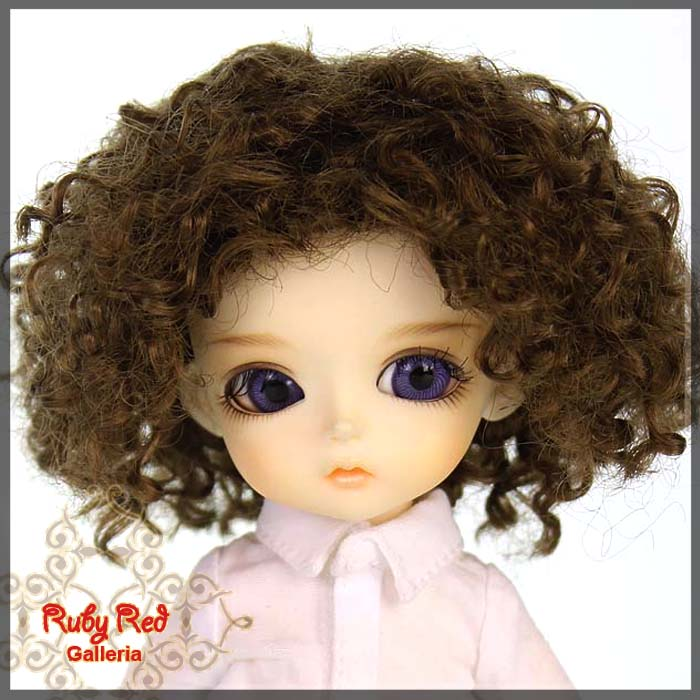 LD0020A Light Brown Doll Wig