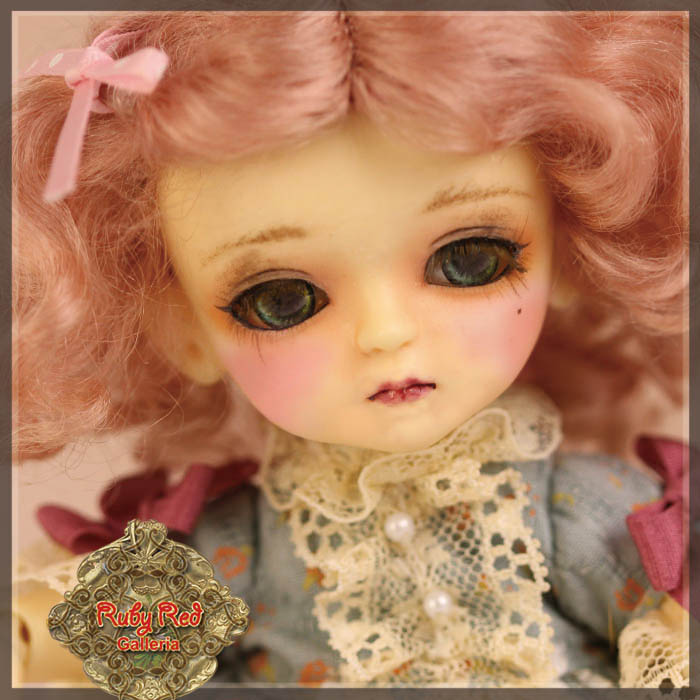 LD0030A Ash Pink Mohair Wig