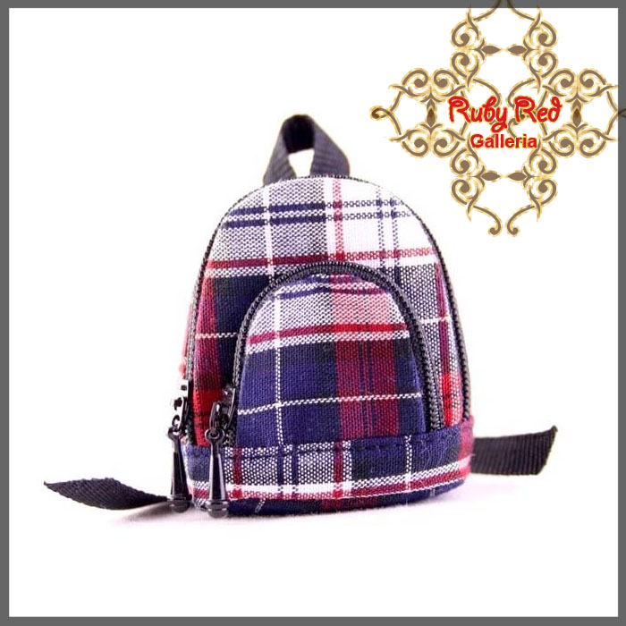 RB0001C Red & Blue Backpack