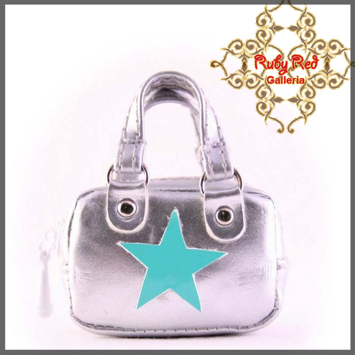 RB0002C Silver Fashionable Handbag
