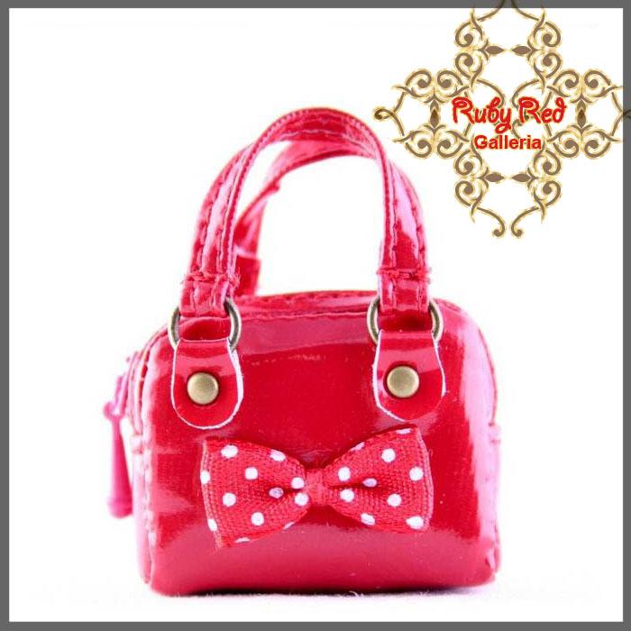 RB0003A Red Fashionable Handbag
