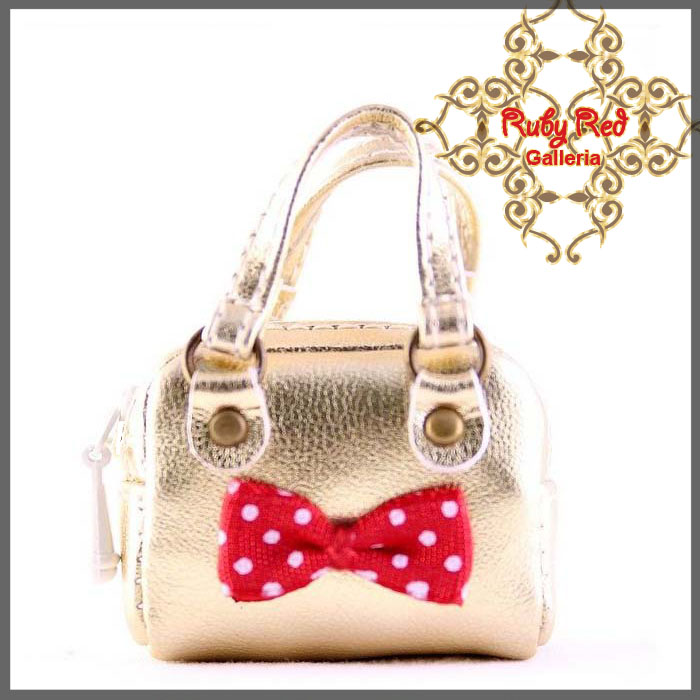 RB0003B Gold Fashionable Handbag