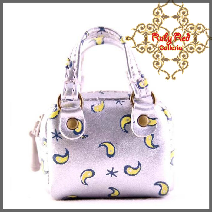 RB0003E Silver Fashionable Handbag