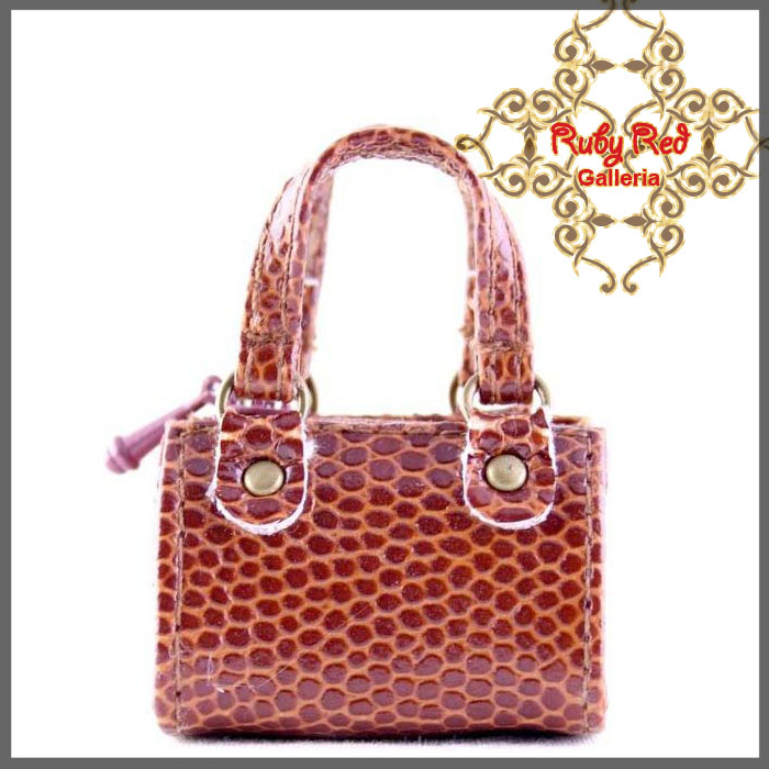 RB0005E Brown Elegant Handbag