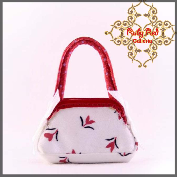 RB0007D White Special Handbag